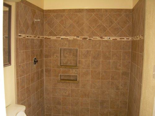 Master Bath New Tile Shower Walls And Floors Jpg